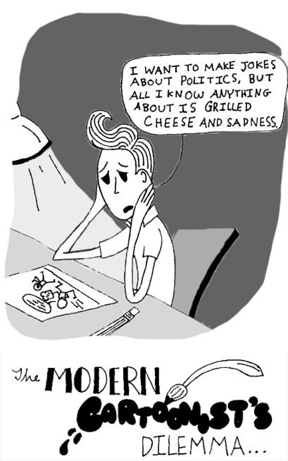 Modern Cartoonist's Dilemma Final